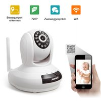Wholesale Wireless Touch Screen Baby Monitor With Night Vision intercom voice WIFI Network IP camera electronic For MAC PC Phone