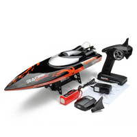 Wholesale Exclusive Newest Larger FT010 RC Boat in KM H Remote Control Speed Boat Water Cooling System F16610