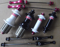 Wholesale HOT SALE Red Black White Novatec light Hubs bicycle bike Novatec hub Speed powerway hubs also available