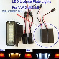 Wholesale Car LED license plate lamp for Golf GOLF Golf Brightness Number plate lamp auto light