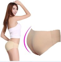 padded panties - 2 seamless invisible bottom pants butt lifting pants fengnong ischiadica pants pad breathable sexy female panties