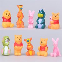 baby doll cakes - winnie the pooh bear Toys Stuffed Animals action figures Dolls Baby Bear Vigny looking for Robin vinyl pvc gift cake decoration Tigger