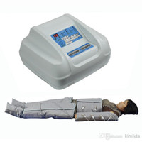Wholesale AIR WAVE PRESSURE FAR INGRARED presotherapy SLIMMING DETOX ES600 lymph Beauty massage HINE
