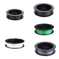 Precio de Trenzas grises oscuros-Calidad superior de PE línea trenzada fuerte verde oscuro 4 alambres / verde / gris / blanco / Negro