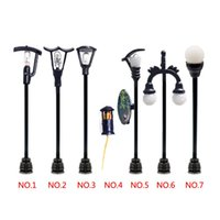 Wholesale 2015 new arrival style street lamp design Micro World Landscaping Decorative plastic crafts DIY decor home decoration J1166