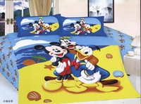 beach themed bedding - beach themed comforter sets mickey mouse donald duck print cotton kids baby bedclothes bed linen bedding set single twin