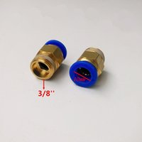 Wholesale 10pcs mm Tube Thread Pneumatic Fitting Quick joint connector