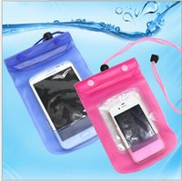 Wholesale New Universal Mobile Phone Waterproof Bag Case Cover Waterproof Case For iPhone Samsung Cellphone Bag