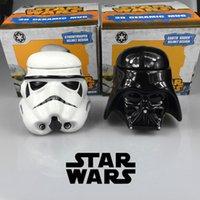 ceramics and pottery - Star Wars Mug Stormtrooper Helmet Darth Vader Helmet Mug D Ceramic Coffee And Drink Tea Cup With Removable Lid
