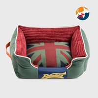 Wholesale Pet products dog nest canvas cotton oxford dog cat kennel high quality high resilience dog bed mat puppy bed for dogs cats