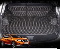 best car cleaning - Best quality Special car trunk mats for Nissan Murano Easy to clean waterproof leather luggage mats for Murano