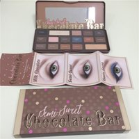 Wholesale 2016 New arrival Semi Sweet Chocolate Bar Eye Shadow Collection Palette color full size new box