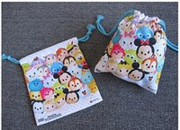cute drawstring bag - cm TSUM TSUM cute cartoon backpack Drawstring Bag