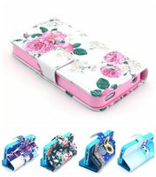 Wholesale New Fashion Beautiful Flower Floral Leather Wallet Cover Case For Apple iphone s iphone4s G I4S BA009