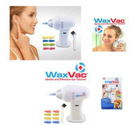 Wholesale NEW Body Health Care Ear Vacuum Cleaner Electronic Ear Cleaner Ear Wax Remove Wax Vac Removes Wax Safely