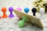 Wholesale silicone Octopus Suction Ball mounts Holders for cell phone iPhone iPod Touch samsung stander DHL FEDEX