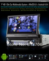 Wholesale Hot inch Android Din Car PC Car DVD Player With GPS WiFi G Autoradio PiP SWC TV Play Store Free