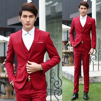 business wear - Tuxedos Tailcoat Free shippng fashion Groom Wear three piece suits Business leisure suit best man suit whole sale hot new can customized