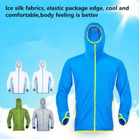 Wholesale Outdoor sports summmer sun protective clothing suit sport running fishing sun protection clothes