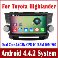 Android car audio dvd - Android Car DVD Player GPS Navigation for Toyota Highlander Kluger with Radio BT USB SD Audio WIFI quot