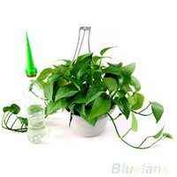 Wholesale 4Pcs Garden Cone Watering bottle Spike Plant Flower Waterers Bottle Irrigation System DRM