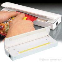 Wholesale Food Vacuum Sealer Save Portable Reseal Storage Bag Keep Food Drop Shipping HG br A3