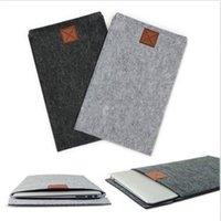 Wholesale Hot Sale Modern Design quot Envelope Laptop Sleeve Case Bag Woolen Felt For Apple For Macbook Pro Air Colors