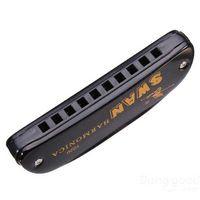 Wholesale DreamSpace Swan Key Of C Hole Tone Diatonic Harmonica key gun key hasp