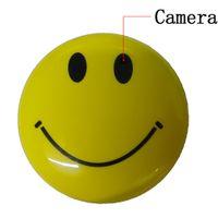 Wholesale 720 P Mini DVR Hidden Cameras Round Smile Face Spy Camera