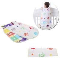 Wholesale Thick Mushroom Pattern Baby Infant Sleeping Bag Swaddle Snap Fasteners Comfortable and Soft Bbay Accessories cm