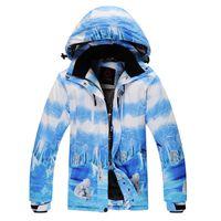 bear polar jacket - Hot Polar bear ski suit women snowboard jackets winter outdoor sport clothes waterproop amp windproof thermal degree out