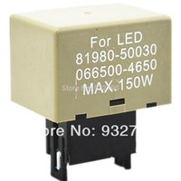 Wholesale DC12 W Pin LED Flasher Relay Module Fix Signal Lights For order lt no track