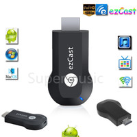 Wholesale 2015 New Chromecast tv stick tv dongle support DLNA ezcast miracast Airplay MirrorOP for windows andriod better than android tv box