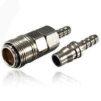 Wholesale 8mm Quick Release Gas Hose Nozzle Copper Connector for Caravan Motorhome BBQ