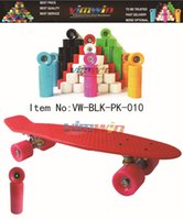 PP material penny boards - Retro inch quot Penny Board quot Style SkateBoard