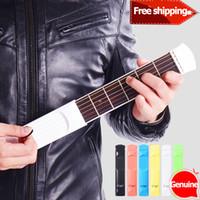 Wholesale Mini Portable Pocket Guitar Practice Tool Gadget Guitar Chord Trainer Fret Model for Beginner New Learner Acoustic Guitar