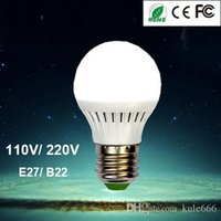 Wholesale High Quality Super Bright Best Energy Saving LED Lights V V E27 B22 Base W W W W W LED Bulbs Globe Light Lamp Bulb