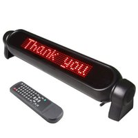 car led scrolling message - Car LED Message Board V Digital Car LED light Message Moving Scrolling Sign Display