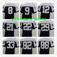 sports jerseys - season New Player White Sports Elite Football Jerseys Football Wear Shirts top Football Jerseys Tops men Football Uniforms