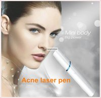 Wholesale Skin Care Handheld Soft Laser Skin Whitening mw nm Acne Treatment instrument