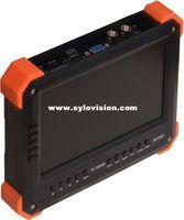 analog tester - New quot TVI AHD camera tester CCTV tester monitor analog HD TVI2 AHD2 P camera testing VGA HDMI input V2A ouput