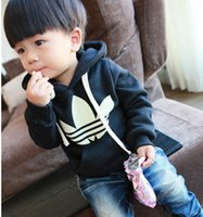 Wholesale Children Autumn New hoodies tops Sweater boys hoodies clothes girl clothes colour