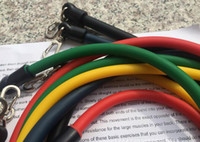 Wholesale Fitness elastic rope tension rope resistance strength training suit tube multi function door deformatio equipment