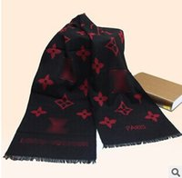 Wholesale High quality men s fashion scarves new high end men s cashmere warm winter scarves scarves cmX30cm
