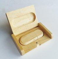 flash drive 8gb key - Wooden USB real gb gb gb gb gb Presentation Gift Box Wood Flash Drive Memory Stick usb stick pen key