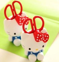 Wholesale Hello kitty KT cat cartoon sitting scissors furnishings stereo socket housing