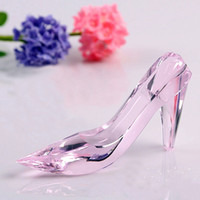best romantic surprises - Best cm Cinderella Crystal shoes surprising girlfriend birthday gift valentine s day romantic confession wedding columns