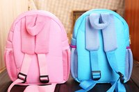 Wholesale 2014 New Frozen Backpack Princess Elsa Anna Backpack Baby Girls Children School Backpack Kids Holiday Gift