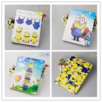 best ipad case stand - ipad air case Minions Flip sleep wake PU leather cases Minion Despicable Me degree stand holder for ipad mini air best