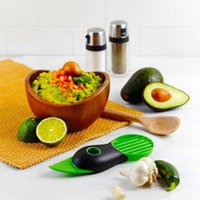 fruit slice - 3 in Avocado Slicer Pitter Splitter Slices Kitchen accessories Sectioning fruit pitters corers vegetable cooking Tools
